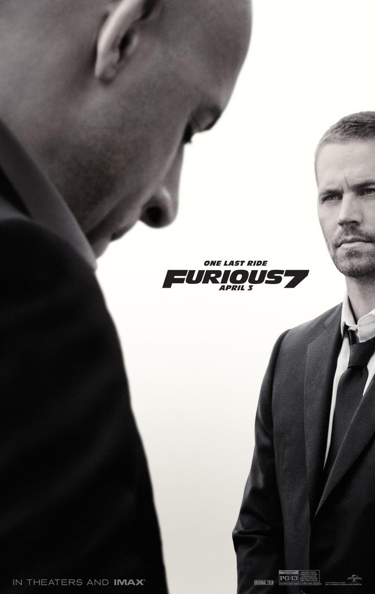 Fast & Furious 7 - It's as crazy and 'impossible' as the previous film(s) with plot holes and ludicrous scenes that defy probability; however it's IMENSLY entertaining with a solid cast. Amazing action sequences, and a decent plot line that makes the longest outing in the franchise (at over 2hs 15m) speed by in no time. The last 5 minutes are dedicated to Paul Walker and his superb part in the series; it's a real tear jerker but is well deserved. Rating: 8/10 | Date: 03/04/15