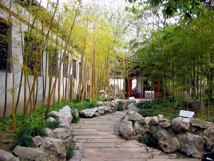 Japanese Bamboo Garden Design japanese garden design gravel path moss garden water fountains screens Interesting Arresting Chinese Bamboo Garden Interesting Arresting Chinese