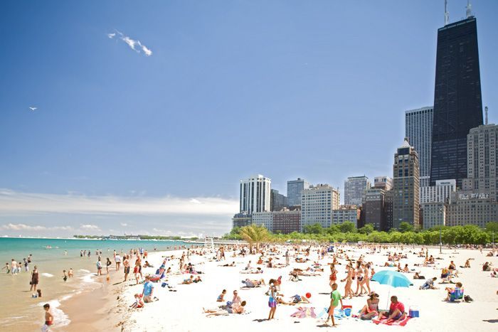 Chicago beaches illinois pinterest chicago lakes for Best places to get married in illinois