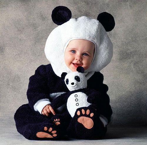 Disfraz estilo panda