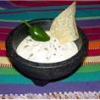 White Salsa: Had something like this at Azteca Resturant.