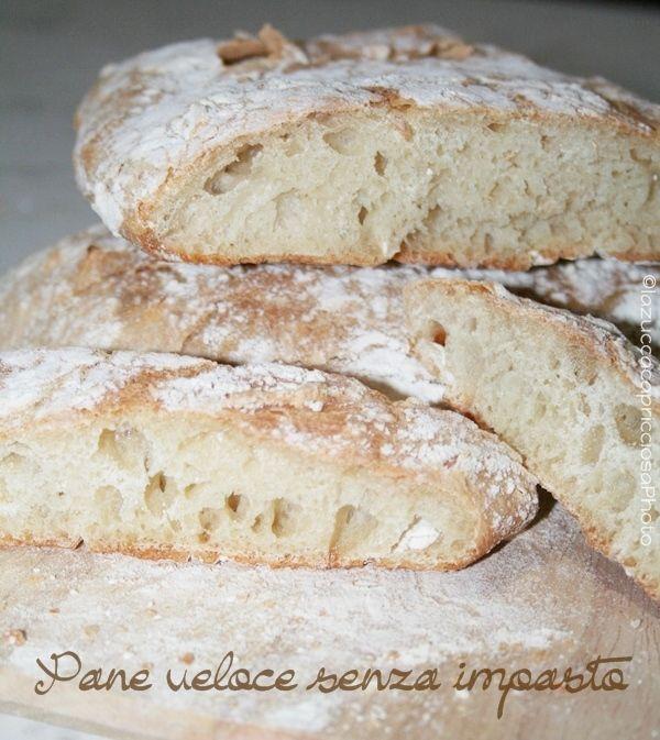 La zucca capricciosa: Pane veloce senza impasto