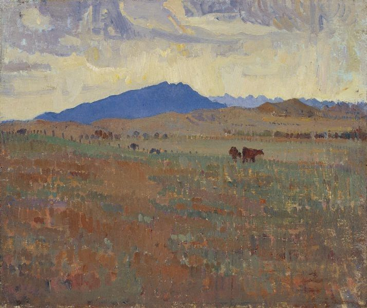 Hawker, Flinders Ranges, (1930) by Horace Trenerry :: The Collection :: Art Gallery NSW