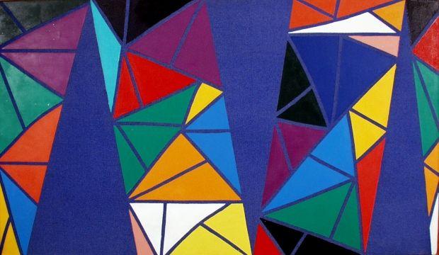 dipinto di Piero Dorazio.