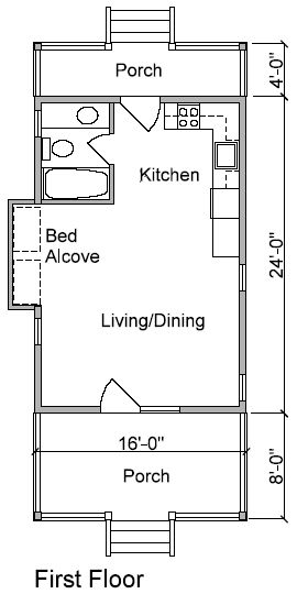 93 best tiny house floor plans images on pinterest small for Maine cottage house plans