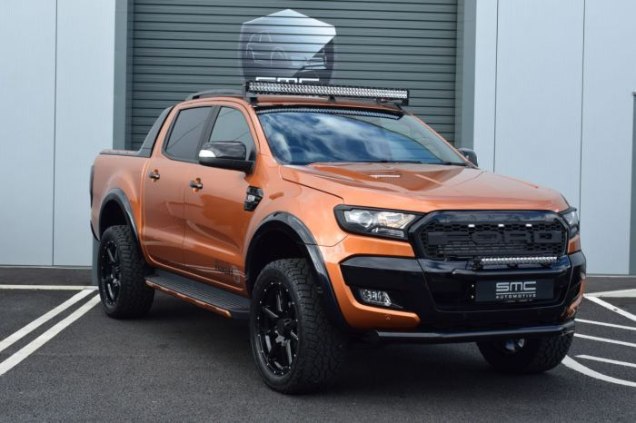 Ford Ranger Wildtrak 3 2 Tdci 4wd Double Cab Smc Hawk Edition Pick