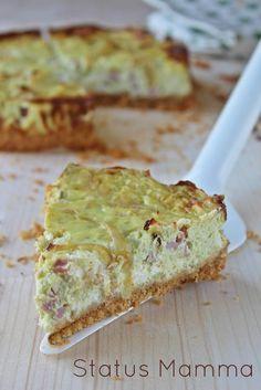 torta salata cheesecake cottura al forno salato antipasto stuzzichino pic nic serata tra amici veloce semplice economico Statusmamma blogGz ...