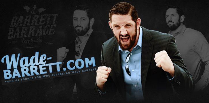 WADE-BARRETT.COM » The Premiere Source For WWE Superstar Wade Barrett