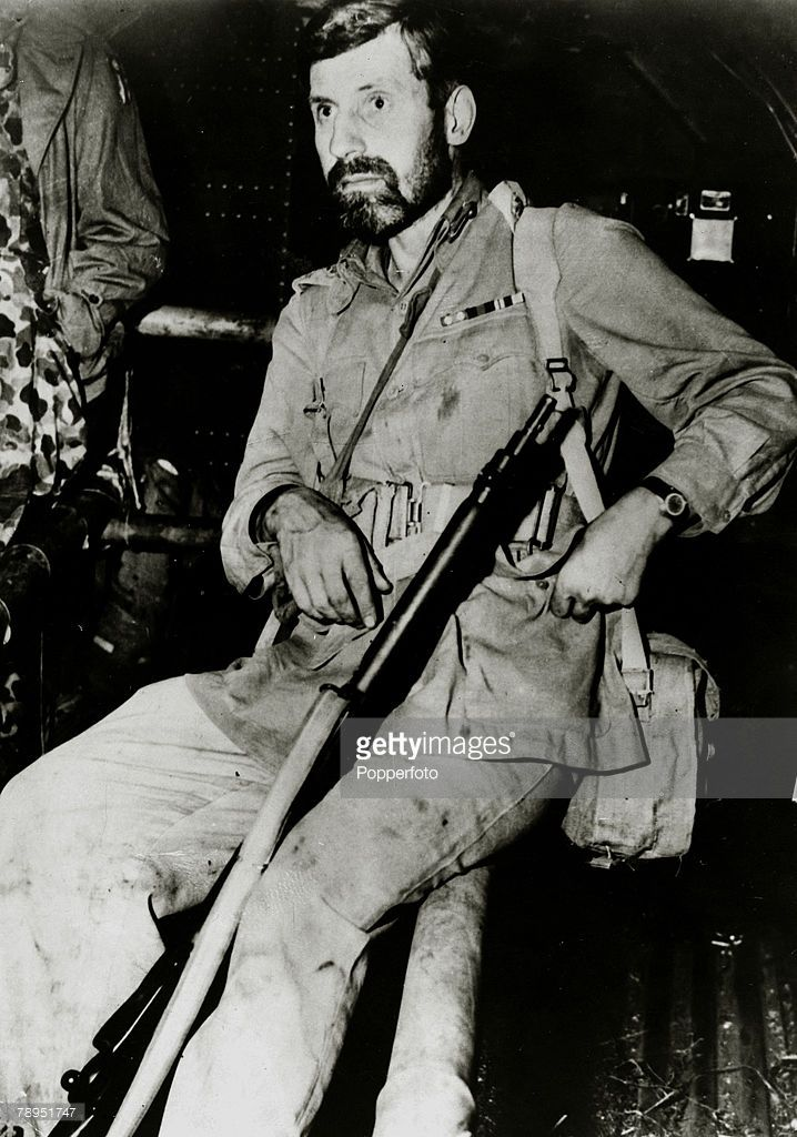 circa 1943, Major General Orde Wingate the leader of the Chindits, The Chindits were the largest force of Allied Special Forces in World War Two, operating behind Japanese lines in Northern Burma, under the command of Major General Wingate
