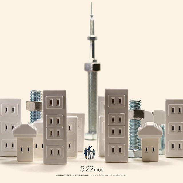 ". 5.22 mon ""TOKYO SKYTREE"" . 5年前の今日、東京スカイツリーが開業しました。 (実はまだ登ったことがありません。。) . #ボルト #東京スカイツリー #Bolt #TOKYOSKYTREE . #Regram via @tanaka_tatsuya"