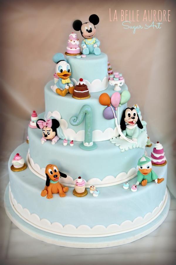 Disney Cake by La Belle Aurore