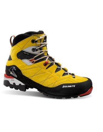 Steinbock SU GTX Citron/ noir Dolomite : Chaussures randonnée homme : Snowleader