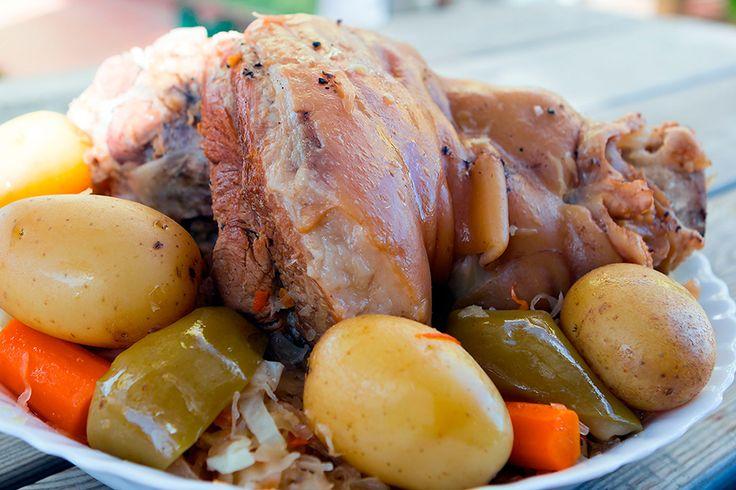 Рецепты из мяса свинины и шампиньонов