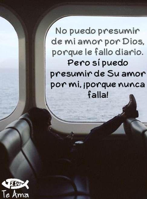 Dios nunca falla! facebook.com/jesusteamamgaministries