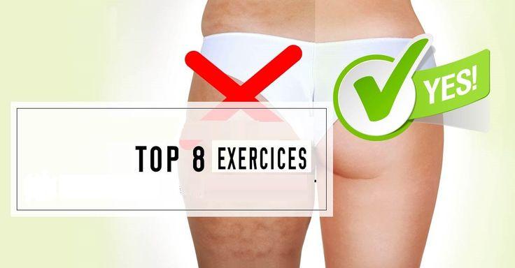 supprimez votre cellulite top 8 des exercices sans equipement 1 exercise pinterest les. Black Bedroom Furniture Sets. Home Design Ideas