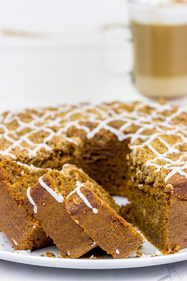 Featuring the rich flavors of coffee and cinnamon, this Cappuccino Coffee Cake is a great way to start your day!