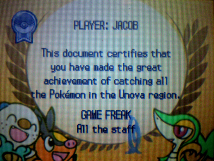 I'm 1/5 done collecting all pokemon existant.  So I guess I could fill in 1/5 of my bucket list item - Collect every pokemon known.