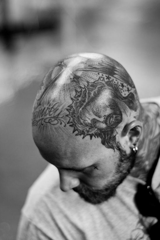 tattoo #head #tats #tattoos #ink #inked #guy#man #tatts #tattoo