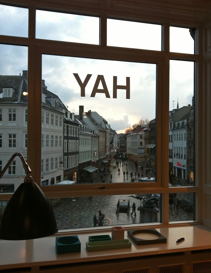 Danish interior design company HAY have the nicest flagship store secretly located in a huge apartment at mainstreet Ströget in Copenhagen. Trendy and new products for the home. #Hay#travelguide#joelhome