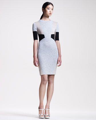 Knit Intarsia Dress by Belstaff at Neiman Marcus.