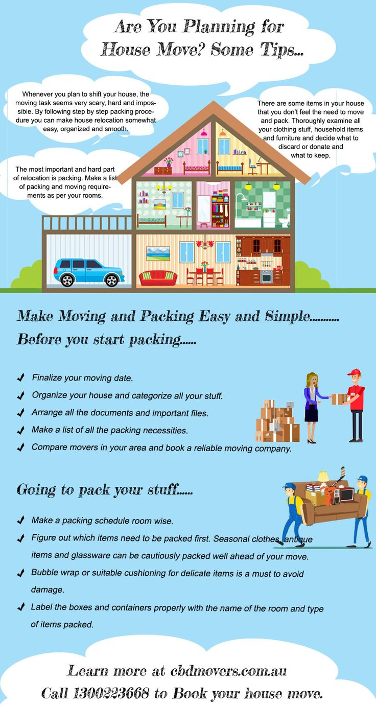 Make Moving And Packing Simple With These Tips By CBD Movers.