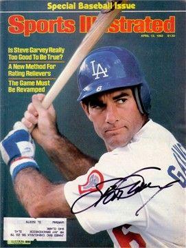 Steve Garvey Actor | ... Steve Garvey autographed Los Angeles Dodgers 1982 Sports Illustrated