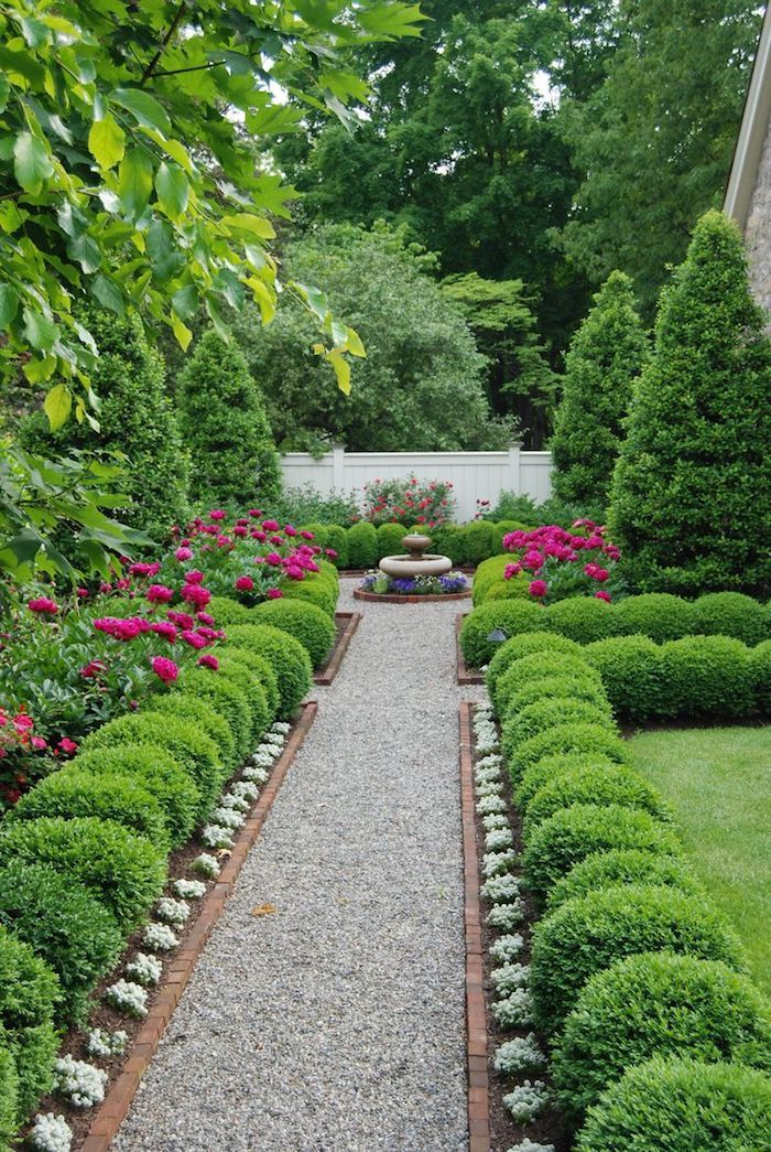 Parterre de jardin perfect amenagement parterre devant for Idee parterre jardin