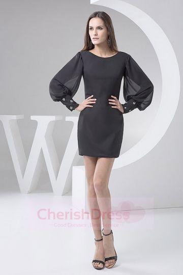 Long Sleeves  Little Black Dresses