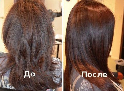 кератиновое восстановление волос отзывы