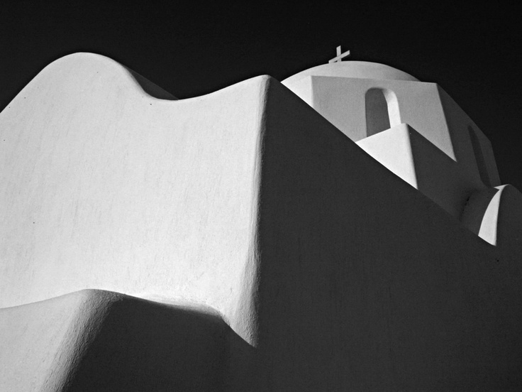 Church in Paros, Greece by Amar Dev Singh