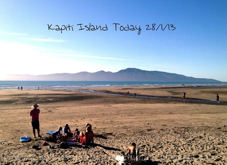 Not So Super Scottish Mummy: Kapiti Island Today 28/1/13