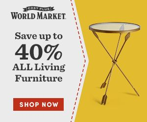 Cost Plus World Market promo code - up to 40% Off living furniture
