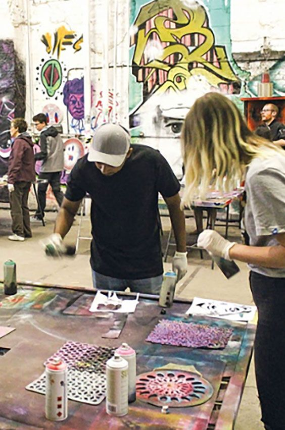 23. Take a street art tour and graffiti workshop in Berlin. Create your own canvas inside an abandoned-factory-turned-creative-space as a momento of your study abroad adventures. Click for more information.