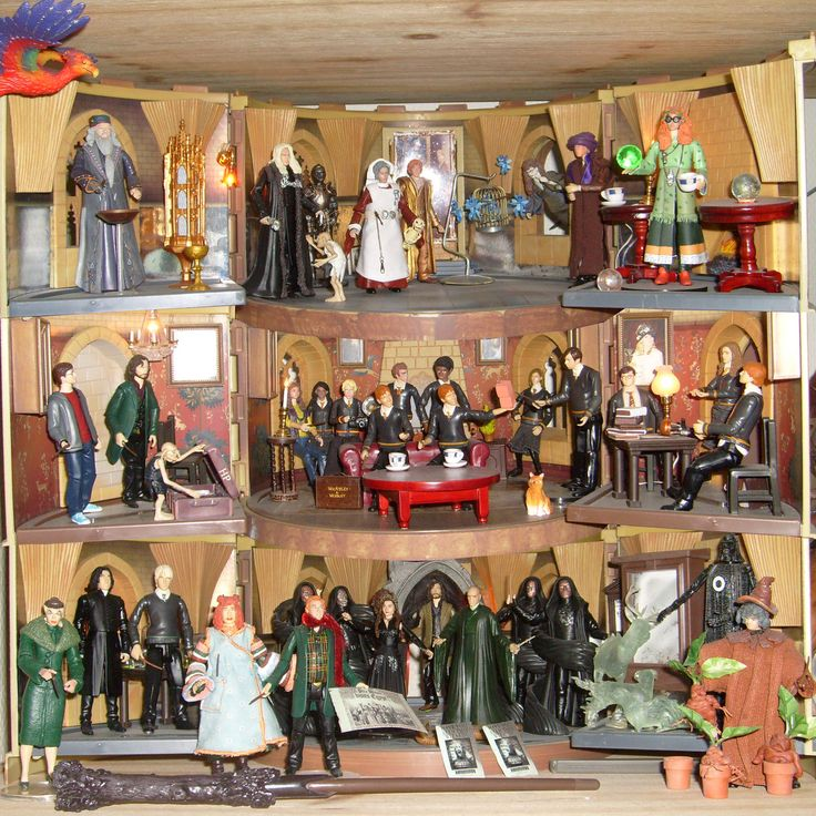 Best Harry Potter Toys And Figures : Best images about dollhouse gt harry potter inspiration