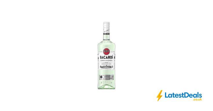 Bacardi Carta Blanca White Rum 1ltr Free C&C, £16 at ASDA