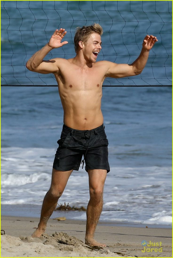 Derek Hough: Shirtless Volleyball Player! | derek hough shirtless beach volleyball 01 - Photo