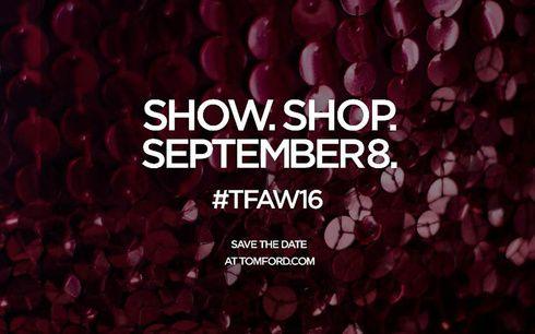 「トム フォード」が2016年秋冬コレクションを発表&日本では同時に即購入可能に!