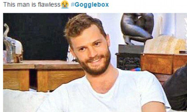 Viewers melt after watching Jamie Dornan on celebrity Gogglebox