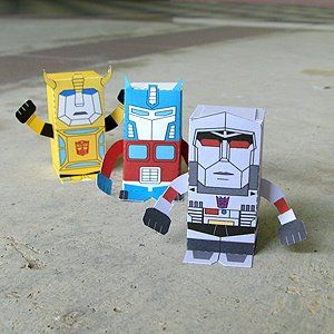 make your own transformers toys!!  love it!!