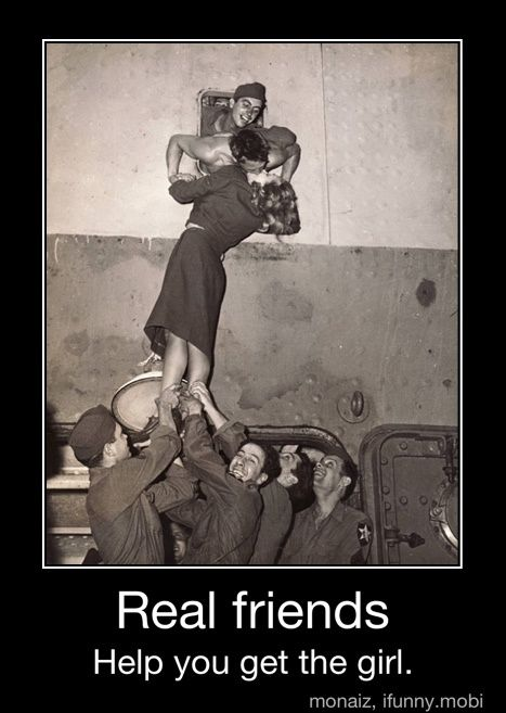 True friends:)