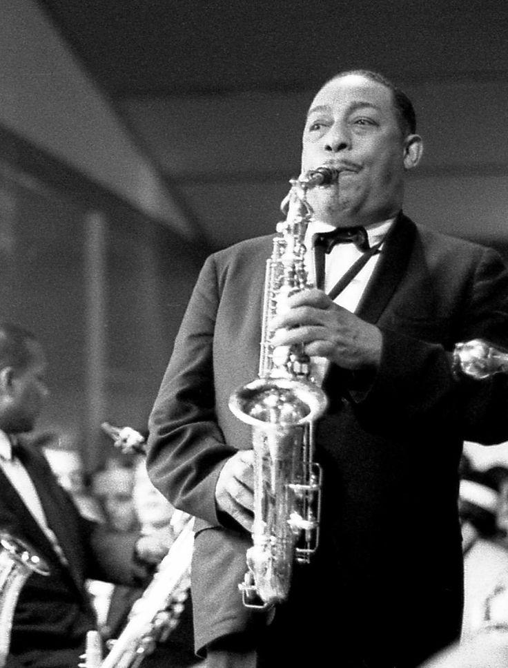 Johnny Hodges - played saxophone with Duke Ellington
