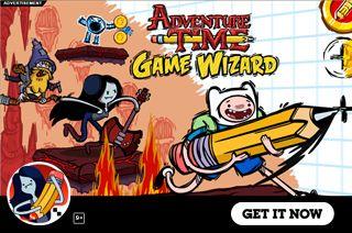 Adventure Time: Game Wizard no Jogos Online Wx