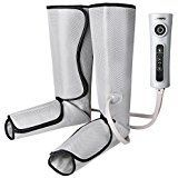 Naipo Leg Compression Massager for Foot and Calf Circulation Massage Air Leg Wraps with 3 Intensities 2 Modes Handheld Controller #footmassage