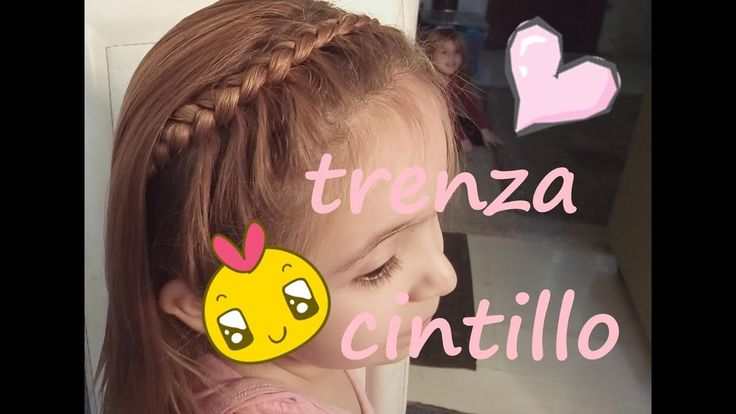 TRENZA CINTILLO FACIL DE HACER¡¡Maria Daniela