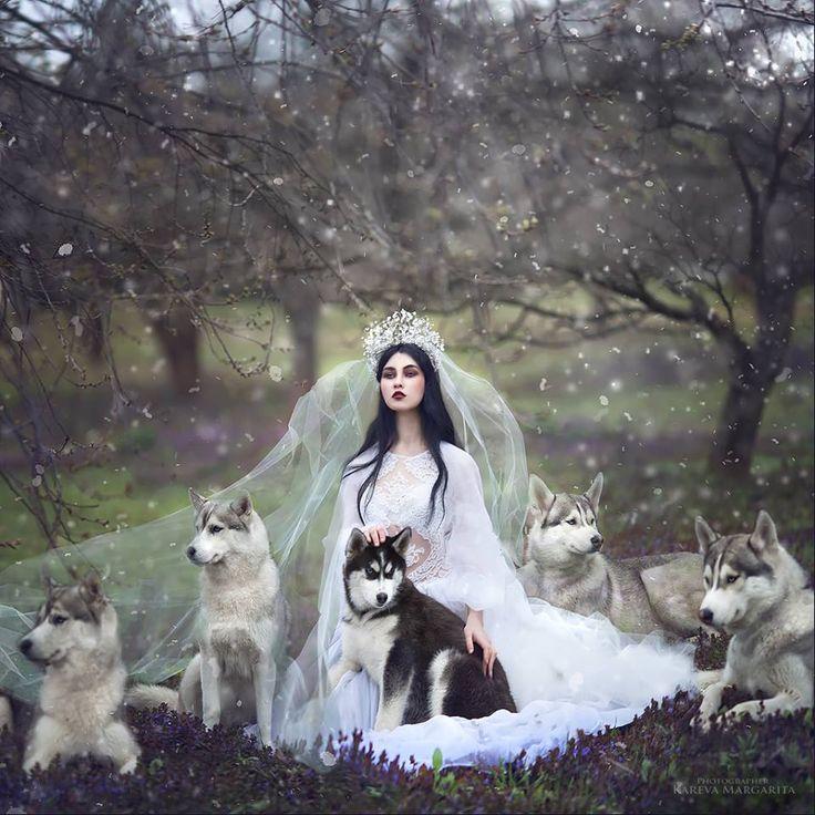 Fantasía y cuentos de hadas en la fotografía de Margarita Kareva