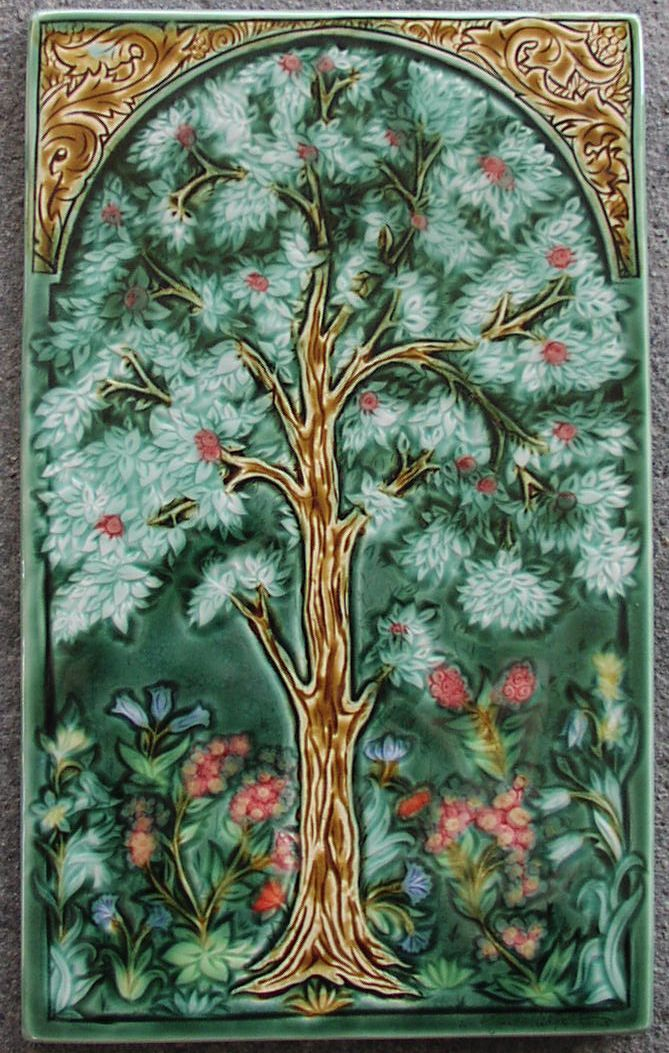 Tree of Life tile1 by William Morris