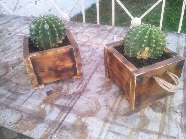 Planters from pallets