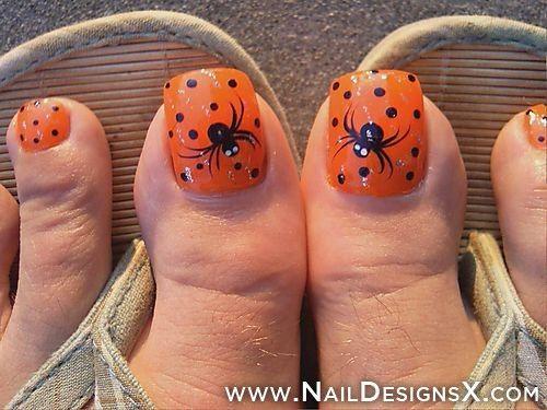 Best Halloween Toe Nail Art . Do you liked ?  » Nail Designs & Nail Art