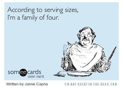 Hahahahaha! I'm such a fatty.