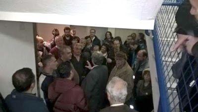 .: Εργαζόμενοι και πολίτες ματαίωσαν τη Γενική Συνέλε...